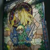 Legend of Zelda Stained Glass Window