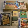 Gameboy Pocket Gold Donkey Kong Limited Edition