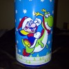 Super Mario World Christmas Metal Can
