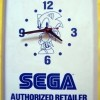 Sonic Sega Authorized Retailer Wall Clock