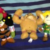 The Legend of Zelda UFO Plush Complete Set