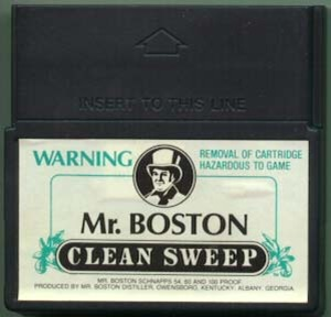 vectrex mr boston clean sweep