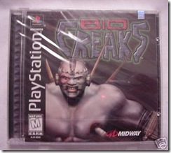 sealed playstation bio freaks