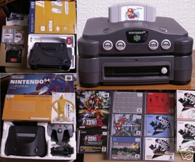 Nintendo 64 DD With All Games