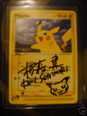 pokemon cards rare. Signed Pokemon Cards | Rare