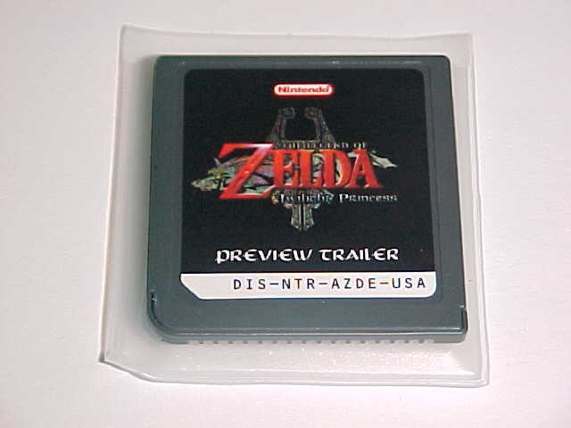 nintendo ds zelda twilight princess preview trailer rare video games auctions sales pricing. Black Bedroom Furniture Sets. Home Design Ideas