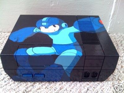 -=  CUSTOM NES  =- Mega-man-8-themed-nes