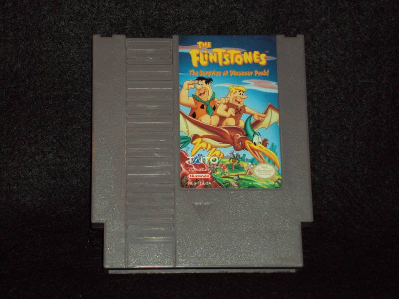 flintstones nes game price
