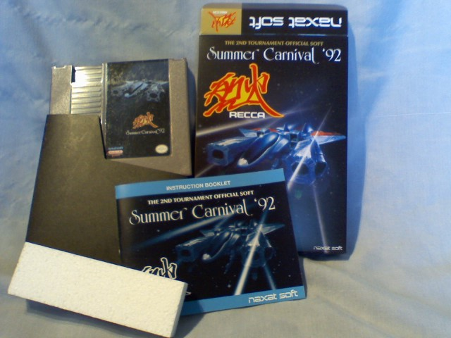 US Nintendo NES Summer Carnival 92' Recca Reproduction