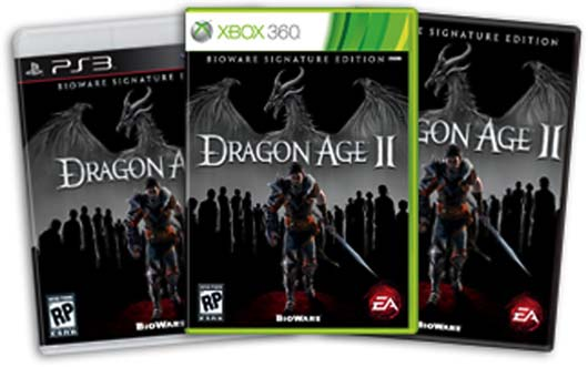 dragon age signature edition. Dragon Age Origins 2 Signature Edition