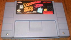 SNES Exertainment Mountain Bike Rally Speed Racer