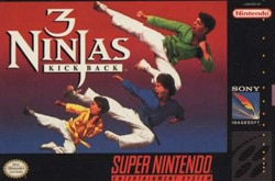 SNES 3 Ninjas Kick Back1