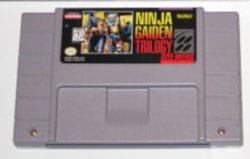 snes super nintendo ninja gaiden trilogy