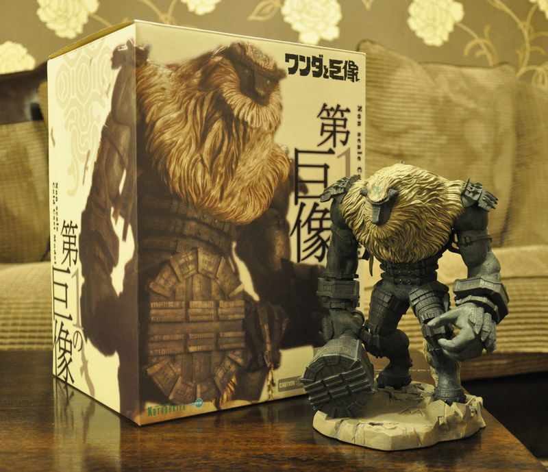 Les Figurines & Statues/Saint Seiya Shadow-Of-the-Colossus-Kotobukiya-Valus-Statue