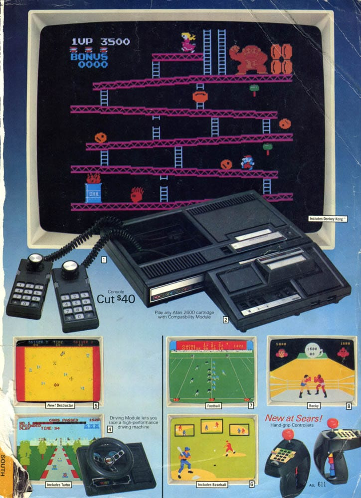 Toys At Sears : The sears catalog a step back in time rare video games