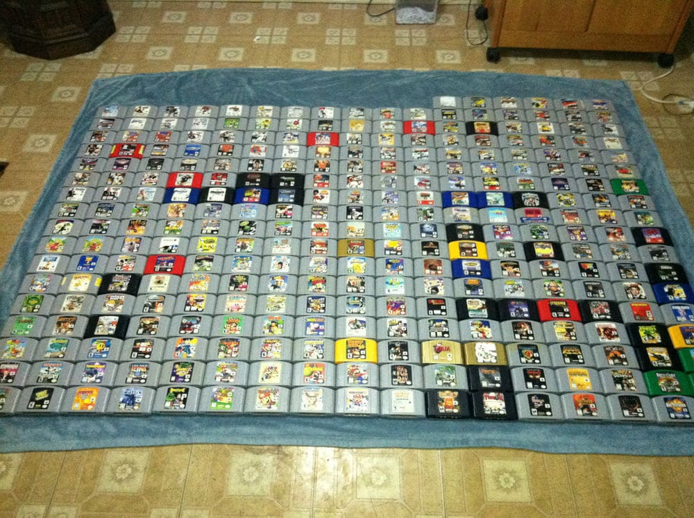 Responses to ?Complete Nintendo 64 Video Game Collection?