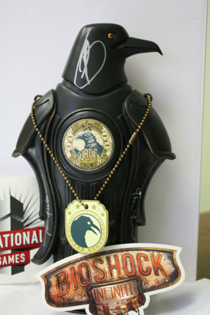 Southeastern Auto Auction >> Bioshock Infinite Official Replica of the Murder of Crow ...