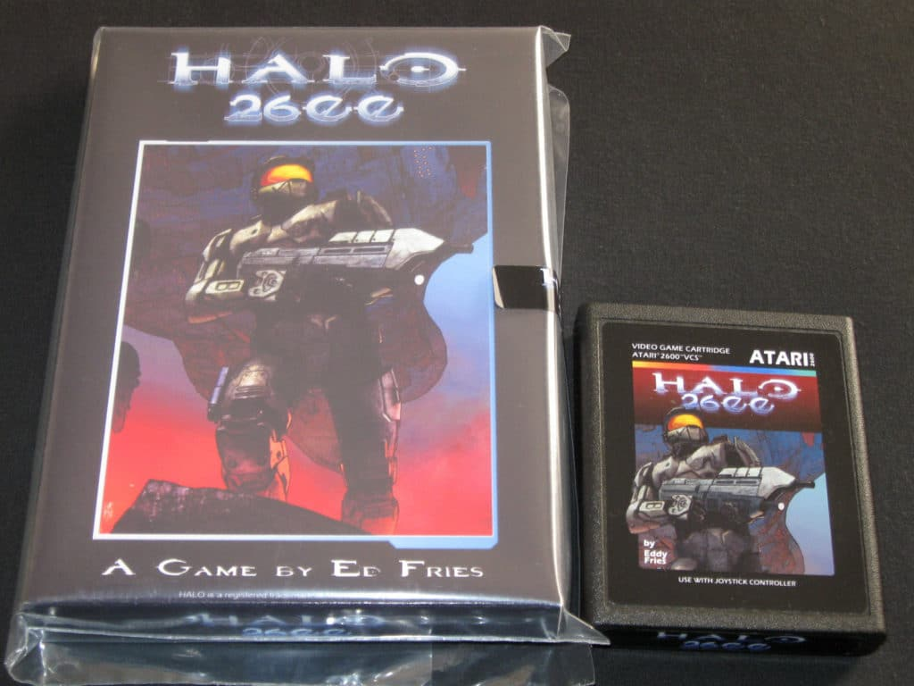 New Box Games : Atari halo game and new box rare video games