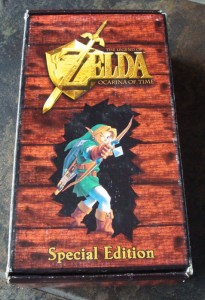 Legend of Zelda Ocarina of Time Special Edition N64