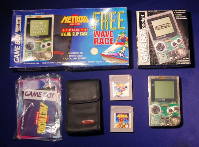 Collection METROID et autre de MuGi-ChoZo Rare-Nintendo-boxed-Gameboy-pocket-Wave-Race-and-Metroid-2