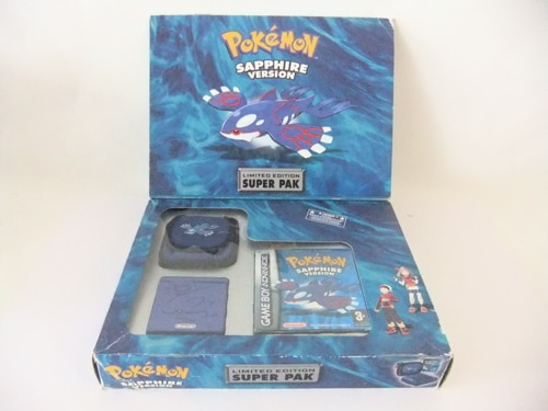 Gameboy advance gba sp pokemon ruby limited edition apps directories