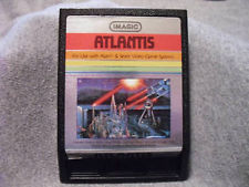 Atlantis II  (Atari 2600, 1982) super rare!  rarity level 10!
