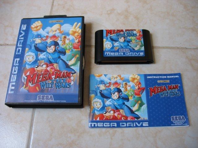 megaman willy wars megadrive